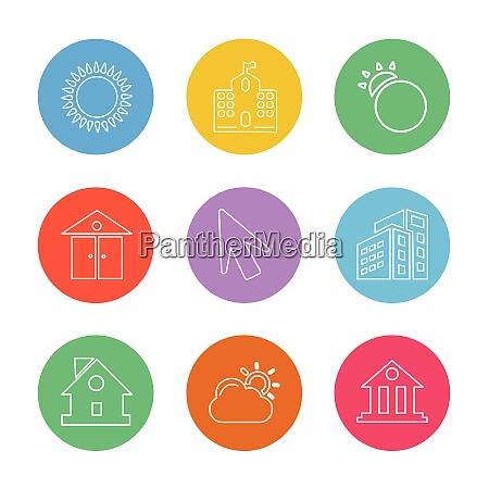 sun school buildings pointer