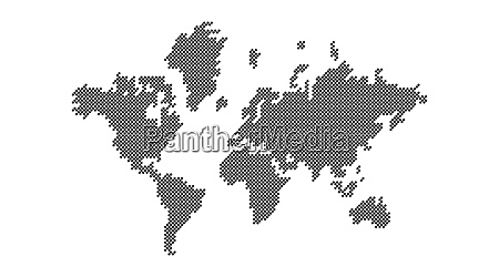 earth earth map points background world