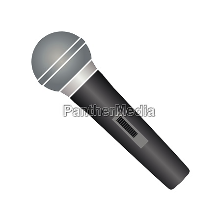 microphone technology music sound icon logo