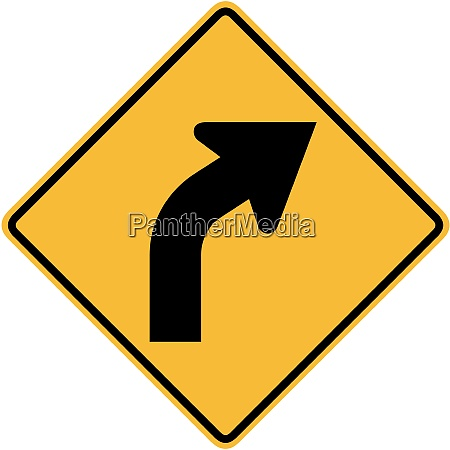 curve to the right