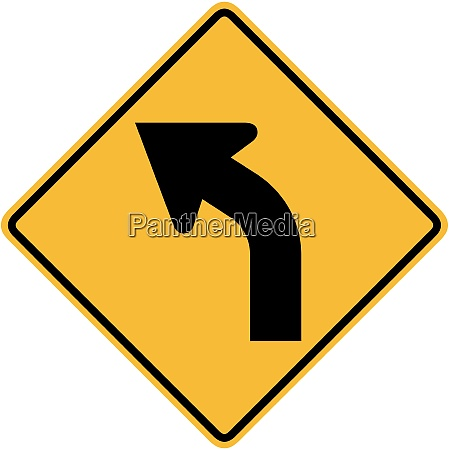 curve to the left