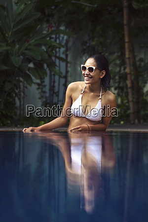 young south east asian woman in