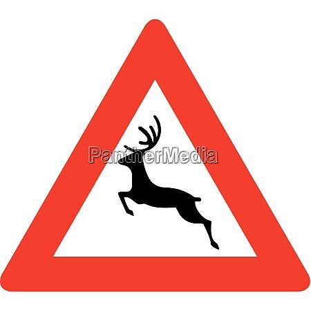 wild animal crossing