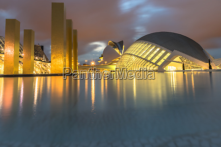 city of arts and sciences reflections
