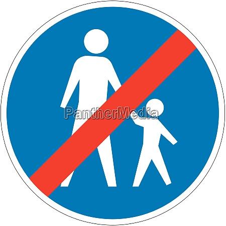 end compulsory footpath