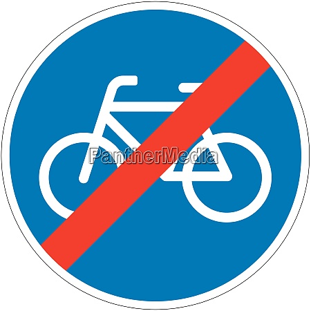 end compulsory cycle track