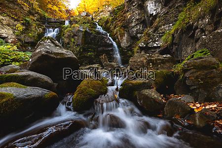 autumn at the dardagna waterfalls tosco