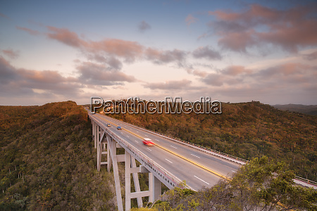 motorway bridge cuba west indies caribbean