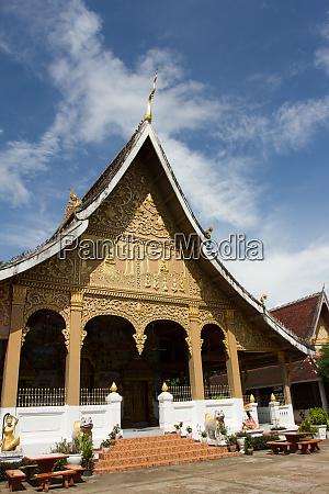 wat may temple luang prabang laos