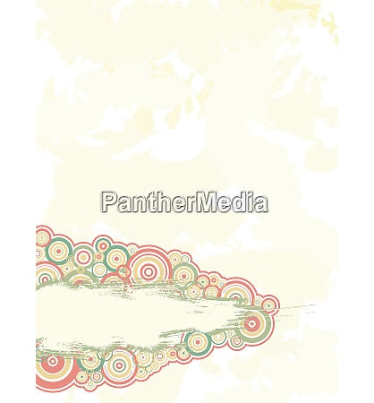 abstract background with circles with space