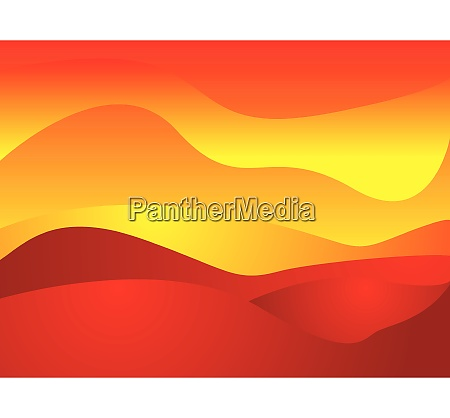 illustrated abstract background with sun like