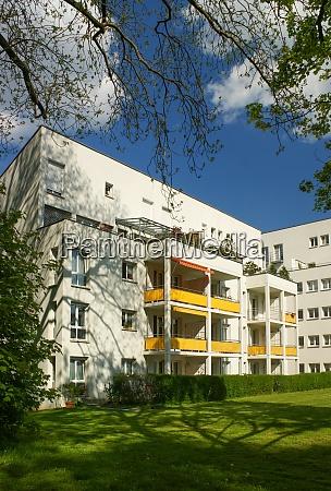 apartemt building chemnitz germany