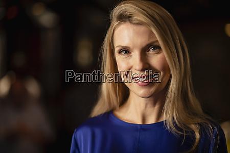 headshot of a mature woman