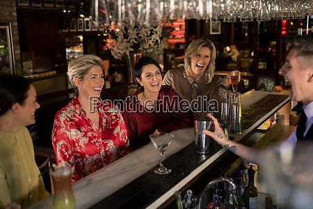 ladies night at the bar