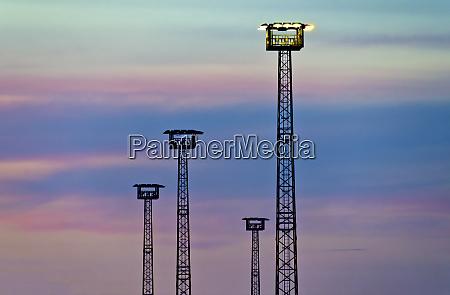 flood light towers