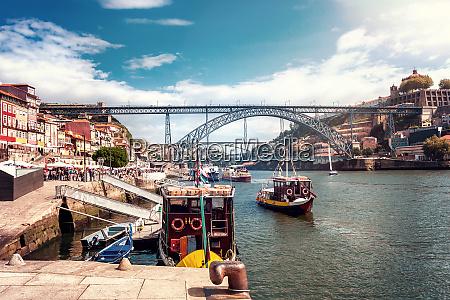 the iron bridge ponte dom luis