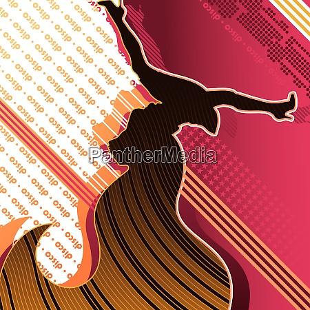 dancing disco girl