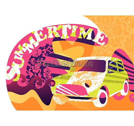 summertime funny poster