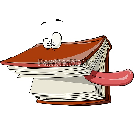 book on a white background vector