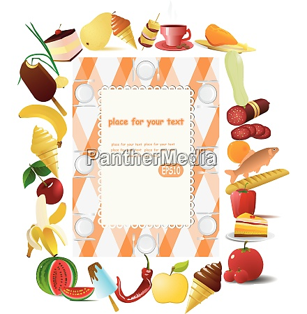 vector illustration picnic