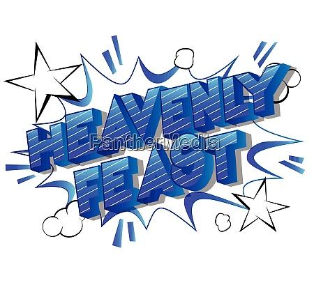 heavenly, feast, -, comic, book, style - 26472376