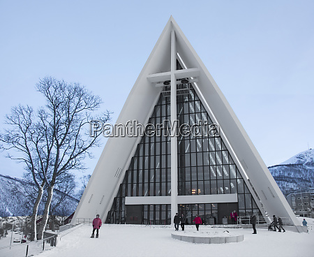 arctic cathedral tromso norway scandinavia europe