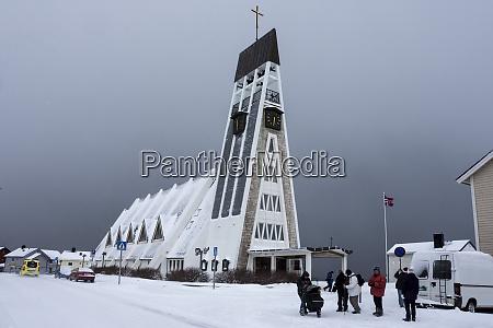 parish church of hammerfest finnmark arctic