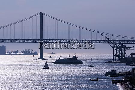 25th april bridge lisbon portugal europe