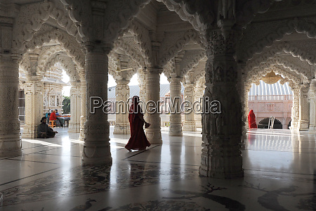 the marble pillared hall of shri
