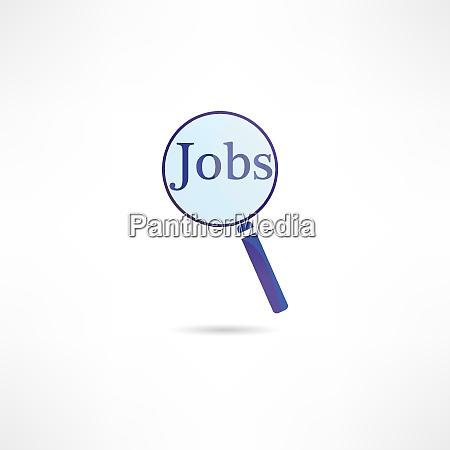 find vacancy icon