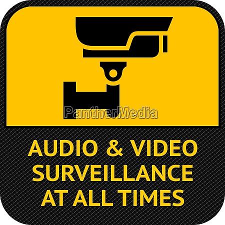 cctv symbol pictogram security camera