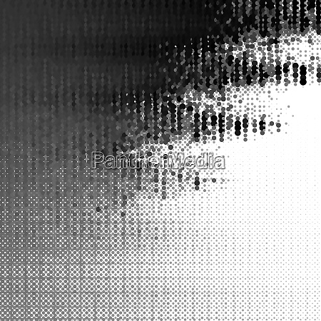 vector halftone effect illusion of the