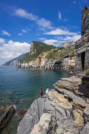 cave of byron portovenere liguria italy