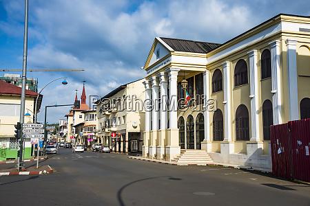 peoples palace in malabo bioko equatorial