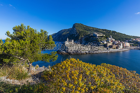 island of palmaria view of portovenere