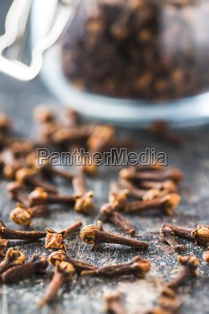 carnation dried clove spice
