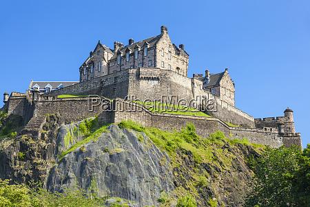 edinburgh castle historic fortress unesco world