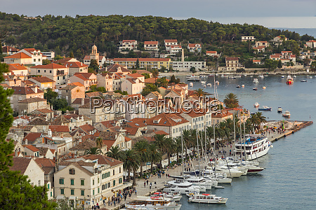 the old town of hvar town
