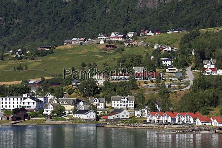 skjolden village sognefjord sogn og fjordane