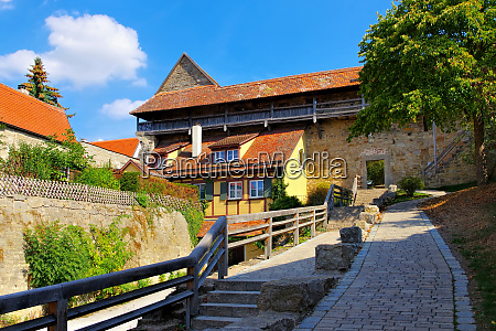 rothenburg in germany the city wall