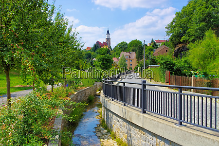 the town kamenz saxony in germany