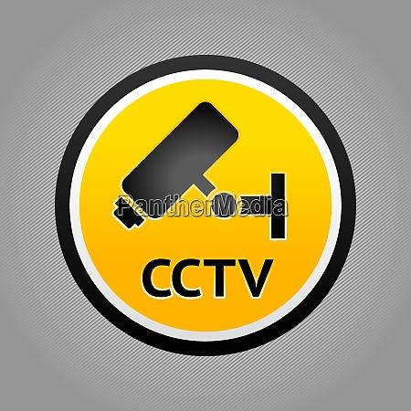 surveillance camera pictogram