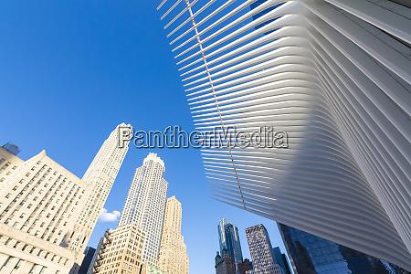 the oculus building by santiago calatrava