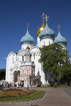 holy dormition cathedral the holy trinity