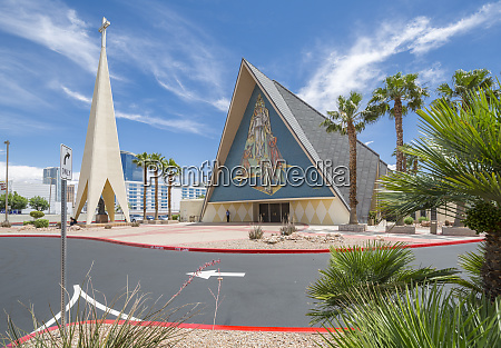 view of las vegas cathedral the