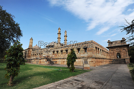 jami masjid champaner built in 1513