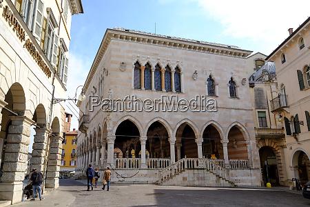 loggia del lionello udine friuli venezia