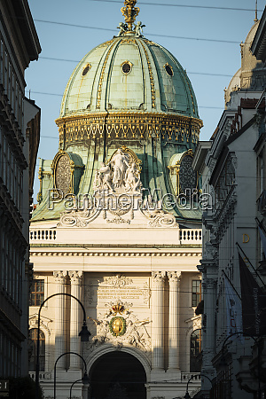 dome of the hofburg palace at