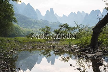 landscape near xingping guilin guangxi province