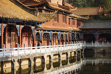 yuantong buddhist temple kunming yunnan province